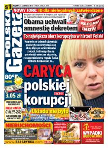 okladka pg 27 czerwca 2014